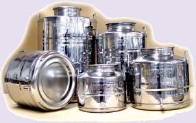 "Oil, wine, milk and other beverage stainless steel containers, furthermore beer kegs manufacturing, food and beverage containers produced for international applications, Italian stainless steel products manufacturer offers stainless steel beverage and Beer Kegs, wine containers, oil and other food containers produced with stainless steel. ""Keg beer"" is used for beer served from a pressurized keg, Stainless steel containers and products made in Italy for the food and beverage worldwide industrial distribution, Euro, DIN, IPB, IPS, IPT, IPM, UK 100 kegs standard as normal production products in Stainless steel AISI 304"