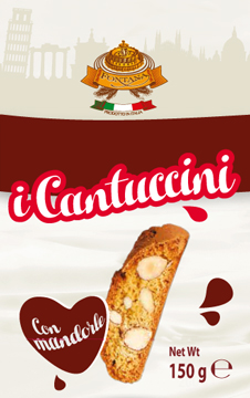 Cantuccini biscuits for wholesale distributors, almond biscuits, chocolate cookies and granulated sugar biscuits for kids