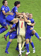 Italy became the most successful European nation ever in World Cup history after lifting the trophy for the fourth time with a penalty shoot-out win over France.