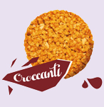 Grunchy cereals cookies made in Italy for B2B distribution
